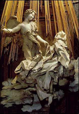 Gianlorenzo Bernini-Ecstasy of St. Teresa-Santa Maria della Vittoria, Rome
