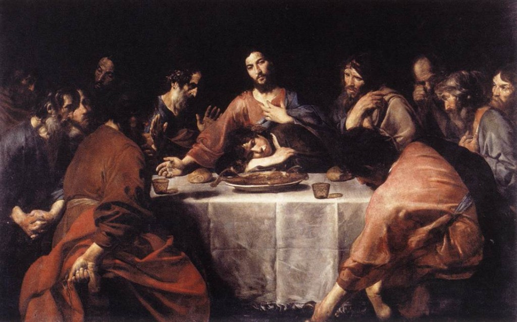"""The Last Supper"" by Valentin de Boulogne"