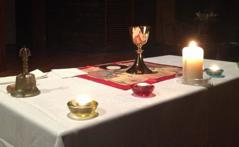 Contemplative Eucharist Service (online)